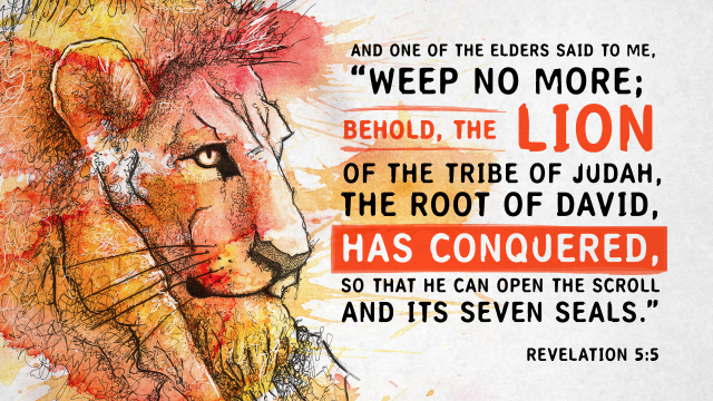The Lion of Judah...