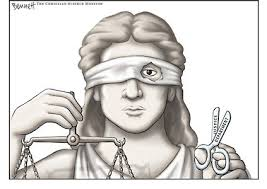 Maybe this is a more appropriate icon for Justice as it exists in America todat...